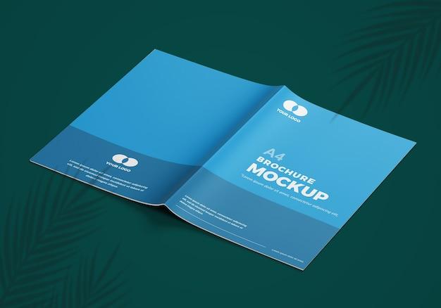 Elegantes broschürenmodell