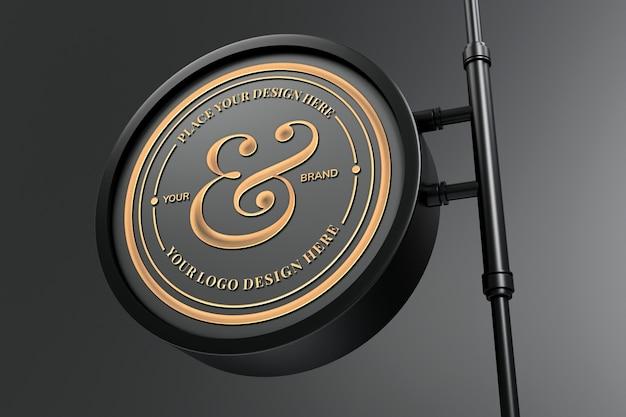 Elegantes logo zeichen modell