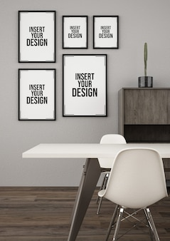 Elegantes studiozimmer