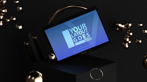 Elegantes tablet-modell