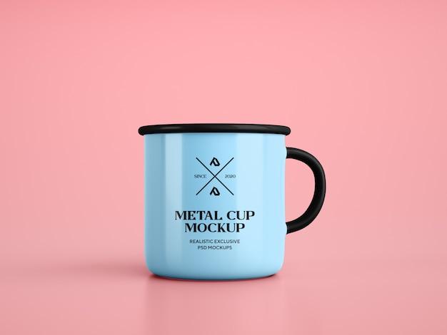 Emaille kaffeetasse tasse modell