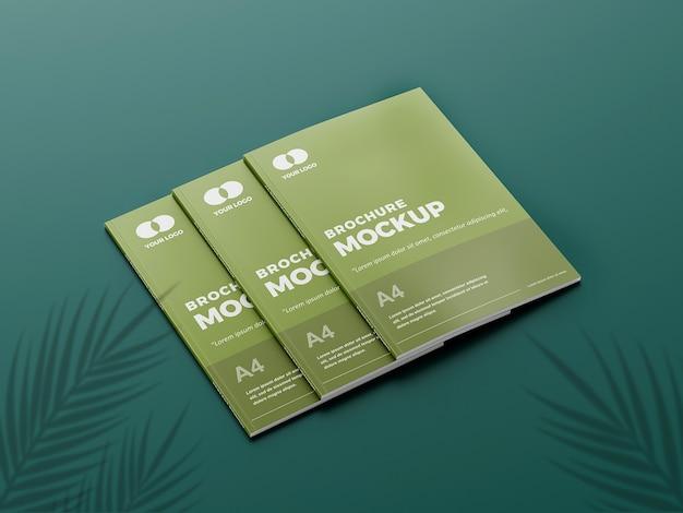 Erstaunliches broschürenmodell
