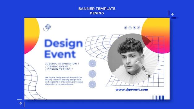 Event-banner-vorlage gestalten