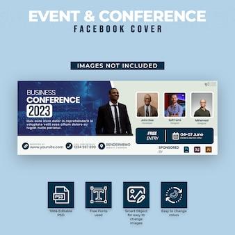 Event & konferenz facebook cover