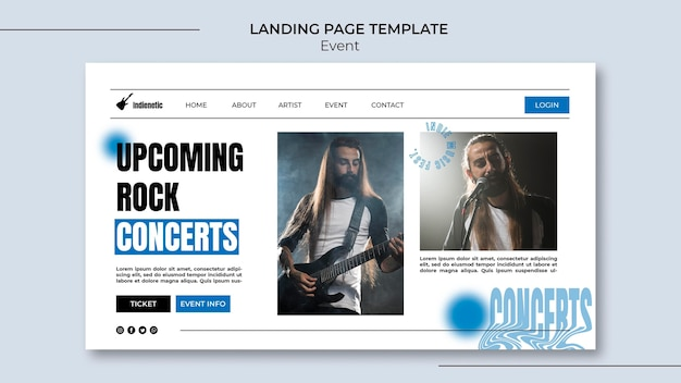 Event-landingpage