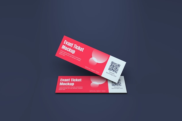 Event ticket modell