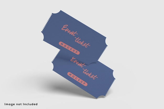 Event-ticket-modell