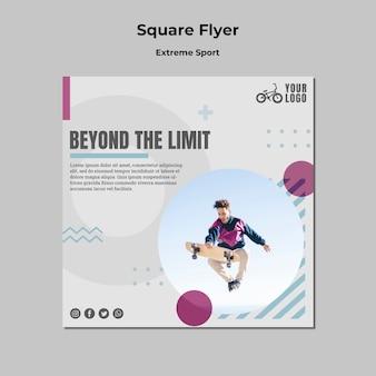 Extremsport-flyer