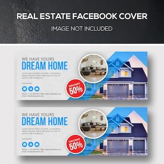 Facebook-cover für immobilien