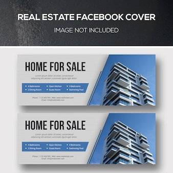 Facebook-cover für immobilien