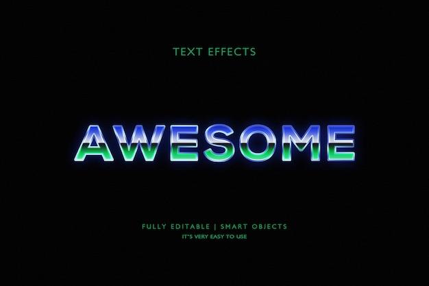 Fantastischer texteffekt