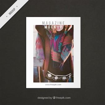 Fashion abdeckung magazin