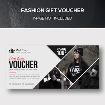 Fashion geschenkgutschein