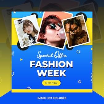 Fashion instagram beitragsvorlage