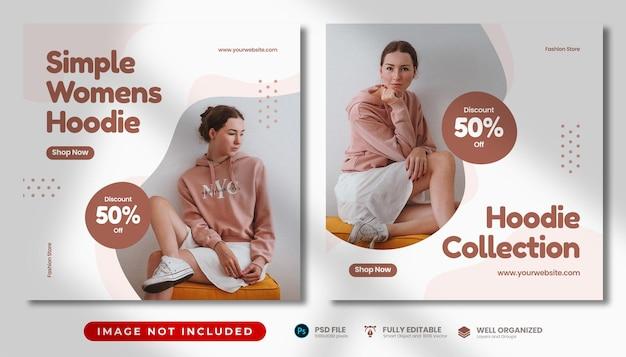 Fashion sale social media vorlage
