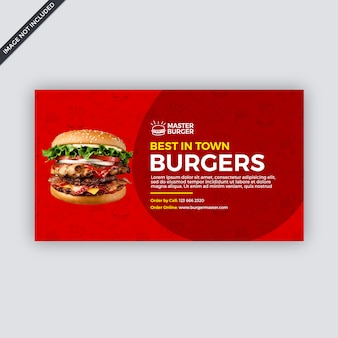 Fast-food-social-media-abdeckung