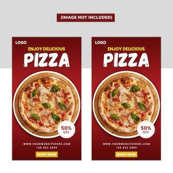 Fast-food-social-media-instagram-geschichte premium-vorlage