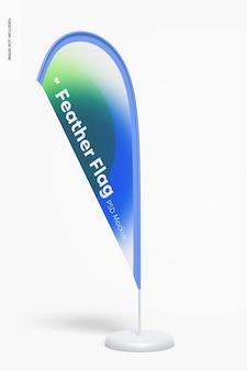 Federfahnen-banner-modell