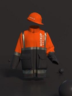 Feuerwehrmann-outfit-modell