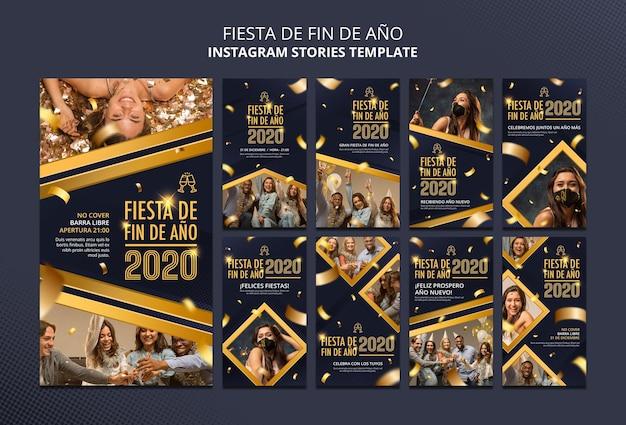 Fiesta de fin de ano instagram geschichten