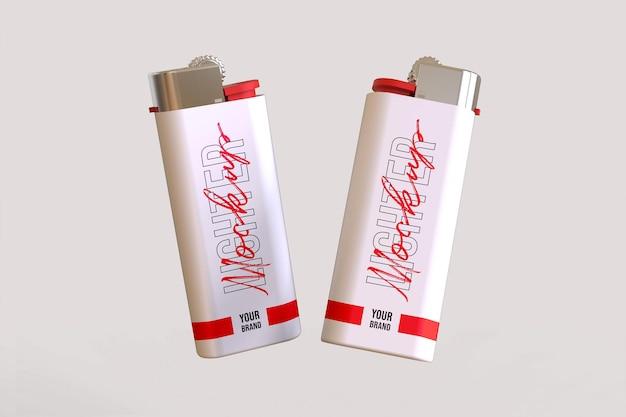 Fire lighter mockup design isoliert