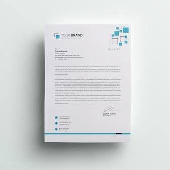Firmenbriefkopf