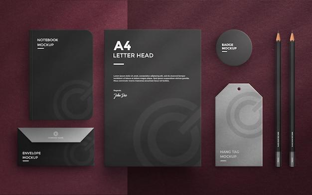 Firmenbriefpapier-set-mockup