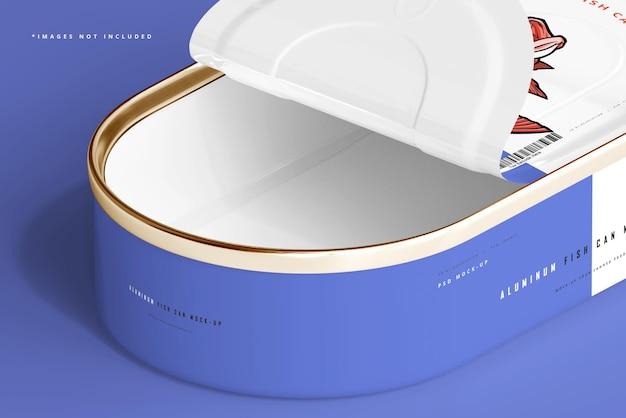 Fischdosen-modell aus aluminium