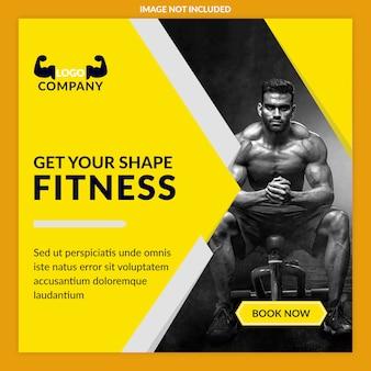 Fitness-anzeigen