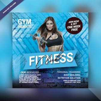 Fitness fitness instagram post