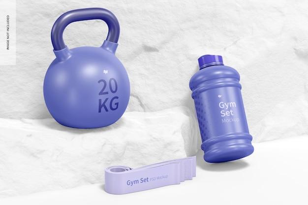 Fitness-set mockup