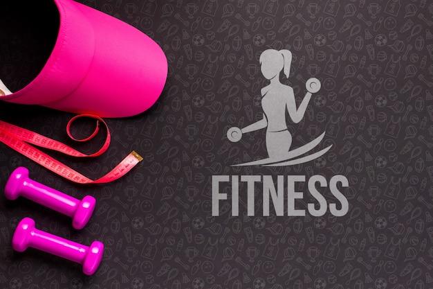 Fitnessgeräte trainieren