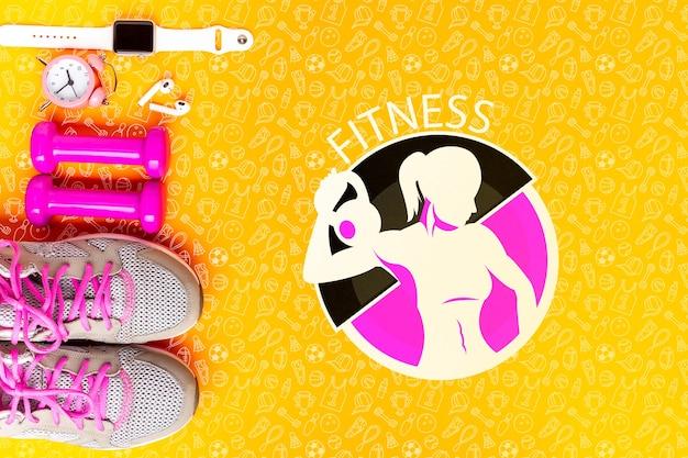 Fitnessgeräte und zeitmessung