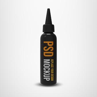Flasche mit ausgussmodell 3d-rendering-design