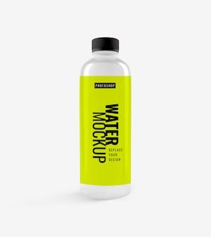 Flasche wasser modell