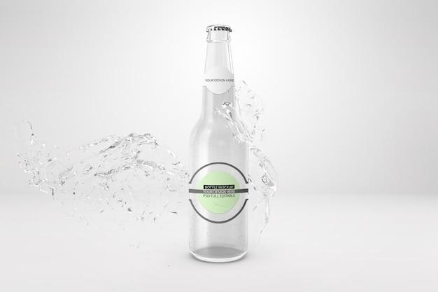 Flaschenmodell für unternehmen