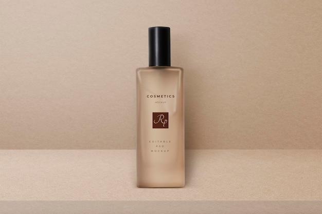 Flaschenproduktmodell psd-beauty-verpackung