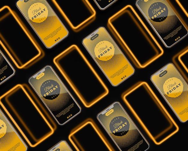Flash-verkauf mit aktionspreis am schwarzen freitag