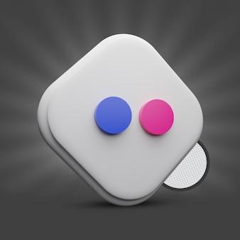 Flickr-3d-symbol