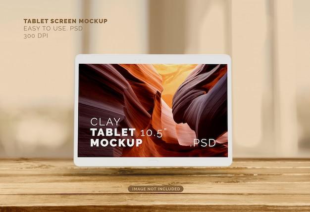 Fliegendes tablet-modell