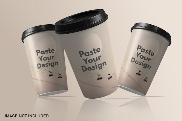 Floating take away papier kaffeetasse modell