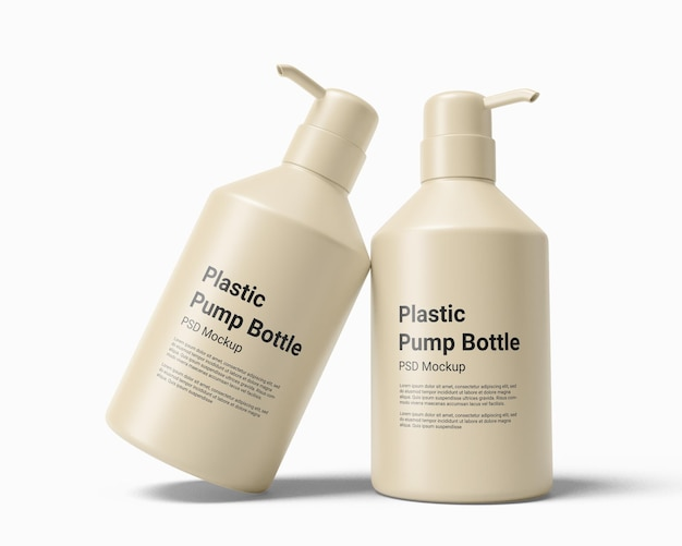 Flüssigseifenspender plastikflasche mit pumpenmodell