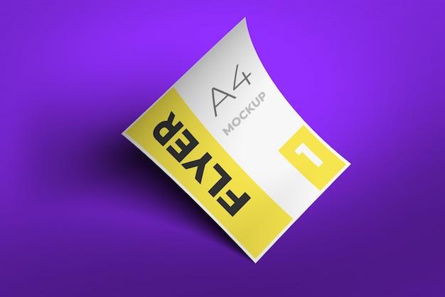 Flyer mockup template-design