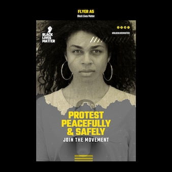 Flyer vorlage für rassendiskriminierung