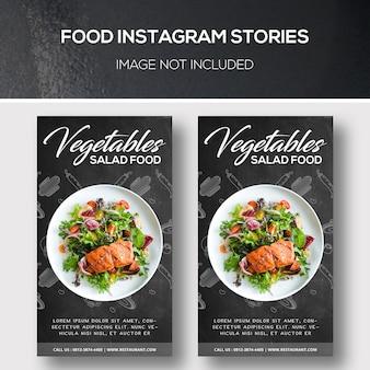Food instagram geschichten