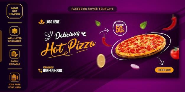 Food sale social media werbevorlage