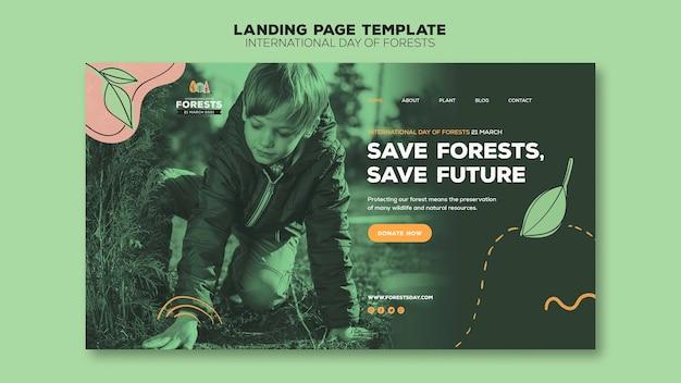Forest day web-vorlage