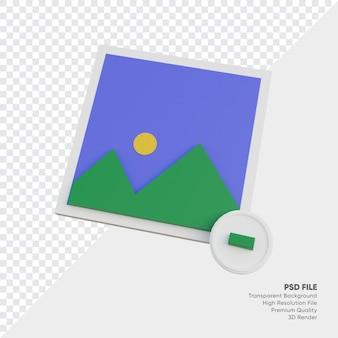 Fotogalerie-symbol minus