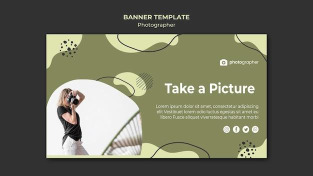 Fotograf studio banner vorlage
