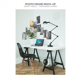 Fotorahmen mock-up
